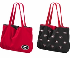Georgia Bulldogs Reversible Tote Bag