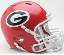 Georgia Bulldogs Riddell Revolution Authentic Helmet