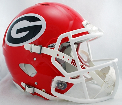 Georgia Bulldogs Riddell Revolution Speed Authentic Helmet