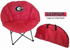 Georgia Bulldogs Round Sphere Chair