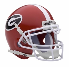 Georgia Bulldogs Schutt Authentic Mini Helmet