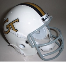 Georgia Tech Yellow Jackets 1969 Schutt Throwback Mini Helmet