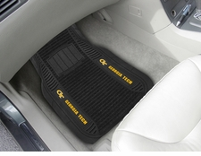 Georgia Tech Yellow Jackets 2-Piece Deluxe Car Mats
