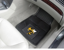 Georgia Tech Yellow Jackets 2-Piece Heavy Duty Vinyl Car Mat Set