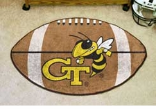 "Georgia Tech Yellow Jackets 22""x35"" Football Floor Mat"