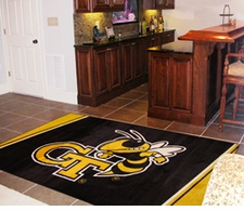 Georgia Tech Yellow Jackets 5'x8' Floor Rug