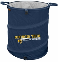 Georgia Tech Yellow Jackets Tailgate Trash Can / Cooler / Laundry Hamper