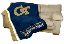 Georgia Tech Yellow Jackets UltraSoft Blanket