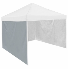 Gray Tent Side Panel for Logo Canopy Tailgate Tents
