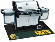 Green Bay Packers 26x42 Grill Mat