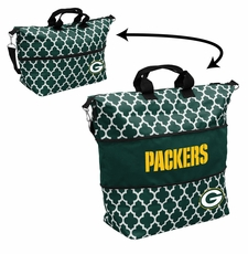 Green Bay Packers  - Expandable Tote (patterned)