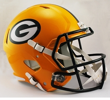 Green Bay Packers Full-Size Deluxe Replica Speed Helmet