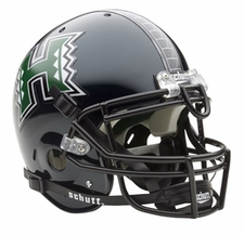 Hawaii Warriors Schutt Authentic Full Size Helmet