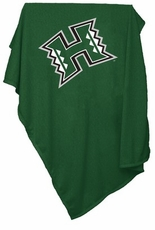 Hawaii Warriors Sweatshirt Blanket