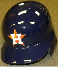 Houston Astros Left Flap Rawlings Authentic Batting Helmet