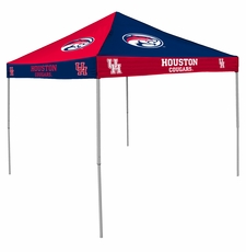 Houston Cougars Red / Blue Checkerboard Logo Canopy Tailgate Tent