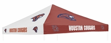 Houston Cougars Red / White Logo Tent Replacement Canopy