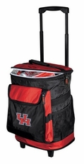 Houston Cougars Rolling Cooler