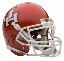 Houston Cougars Schutt Authentic Full Size Helmet