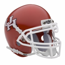 Houston Cougars Schutt Authentic Mini Helmet