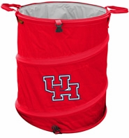 Houston Cougars Tailgate Trash Can / Cooler / Laundry Hamper