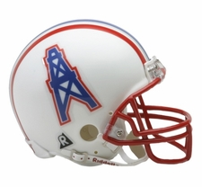 Houston Oilers 1981-96 Throwback Replica Mini Helmet