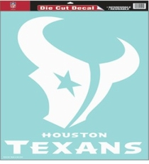 Houston Texans 18 x 18 Die-Cut Decal