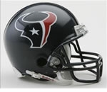 Houston Texans Autographed Football Gear