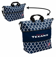 Houston Texans  - Expandable Tote (patterned)