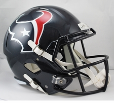 Houston Texans Full-Size Deluxe Replica Speed Helmet