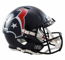 Houston Texans Revolution Speed Riddell Authentic Helmet