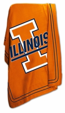 Illinois Fighting Illini Classic Fleece Blanket