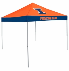 Illinois Fighting Illini Economy 2-Logo Logo Canopy Tailgate Tent