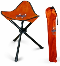 Illinois Fighting Illini Folding Stool