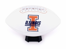 Illinois Fighting Illini Fotoball Signature Embroidered Full Size Football