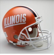 Illinois Fighting Illini Riddell Pro Line Authentic Helmet