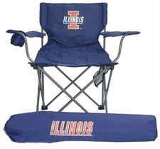 Illinois Fighting Illini Rivalry Adult Chair