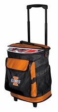 Illinois Fighting Illini Rolling Cooler