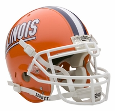 Illinois Fighting Illini Schutt Authentic Full Size Helmet