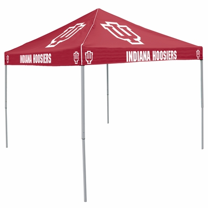 Indiana Hoosiers Red Logo Canopy Tailgate Tent