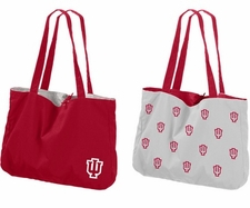 Indiana Hoosiers Reversible Tote Bag