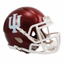Indiana Hoosiers Riddell Speed Mini Helmet