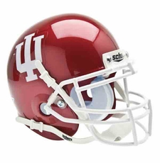 Indiana Hoosiers Red Schutt Authentic Mini Helmet