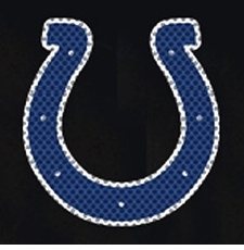 Indianapolis Colts 12 x 12 Die-Cut Window Film Decal