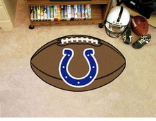 "Indianapolis Colts 22""x35"" Football Floor Mat"