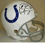 Indianapolis Colts Autographed Football Gear