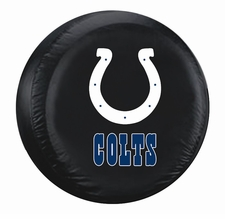 Indianapolis Colts Black Standard Spare Tire Cover