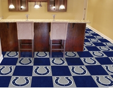 "Indianapolis Colts Carpet Tiles - 20 18"" x 18"" Tiles"