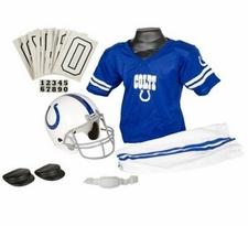 Indianapolis Colts Deluxe Youth / Kids Football Uniform Set