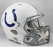 Indianapolis Colts Full-Size Deluxe Replica Speed Helmet